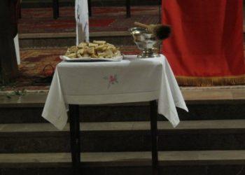 Poświęcenie chleba, wody i soli